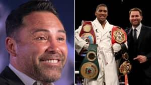 Golden Boy Promoter Oscar De La Hoya Wants Anthony Joshua, Makes Him Offer