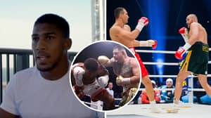 Anthony Joshua Once Criticised Tyson Fury For 'Running' In A Fight