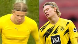 Erling Haaland Unleashed A 'Foul-Mouthed Outburst' At His Borussia Dotmund Teammates Before Storming Off The Pitch