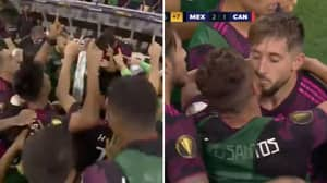 Mexico Players Were Emotional After Scoring Following Jonathan Dos Santos' Father's Passing