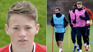 The Growth Spurt Of Scott McTominay After His 18th Birthday Was Mind Blowing