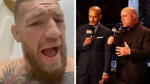 'Oh My God The Ground And Pound': Conor McGregor Mocks 'Novice' UFC Commentators