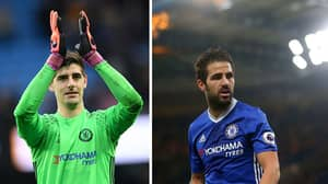 Fabregas And Courtois Engage In Twitter Banter Over 2015 West Brom Loss