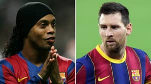 'Ronaldinho Ranks Ahead Of Lionel Messi As The Greatest Player Of All Time,' Says Ex-Barcelona Player