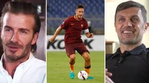 WATCH: Maldini And Beckham Pay Tribute To Francesco Totti