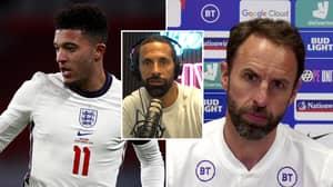 Rio Ferdinand Questions Gareth Southgate's Mentality After Bizarre Jadon Sancho Comments