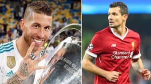 Sergio Ramos 'Likes' Picture Of Dejan Lovren Crying On Instagram