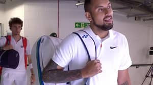 Nick Kyrgios Admits He 'Just Wants A Beer' While Waiting To Play At Wimbledon