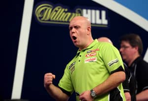 Michael Van Gerwen's Opening Leg Just Shows He's On Another Level