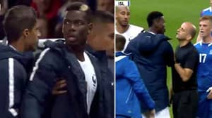 What Paul Pogba Did After Kylian Mbappe Was Snapped By Iceland Player