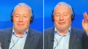 Ally McCoist's Reaction To Will Vaulks Goal Is Absolutely Wonderful