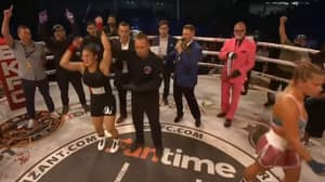 Paige VanZant Storms Out Of The Ring After Losing Second Bare Knuckle FC Fight