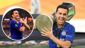 Pedro Becomes The First Player To Win Five Of Football's Biggest Trophies