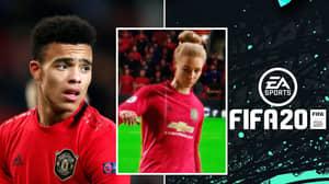 FIFA 20 Glitch Bizarrely Transforms Manchester United's Mason Greenwood Into A Woman