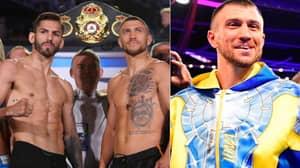 Vasyl Lomachenko Stops Jorge Linares, Claims Lightweight World Title