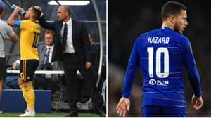 Roberto Martinez Explains How Eden Hazard's 'Famous Ass' Is His Secret Weapon