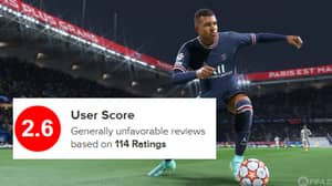FIFA 22 Currently Has An Embarrassing 2.6 User Rating On Metacritic Just Days After Launch