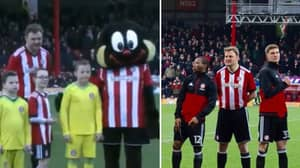 LADs Stitch Up Their Mate And Make Him Brentford Mascot On His Stag Do