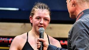 Boxer Cheyenne Hanson Shows Off Horrific Head Injury After Fight