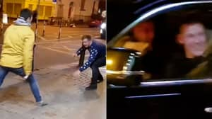 When Conor McGregor Pulled Up Alongside Two Irish Lads Imitating Him