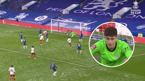 Kepa Arrizabalaga Makes Another Error For Chelsea In FA Cup Tie Against Luton Town