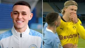 Phil Foden Finally Reveals What He Said To Erling Haaland In Honest Full-Time Chat