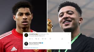 Marcus Rashford Reveals He Was Hacked After Deleted Tweet Appeared To Confirm Jadon Sancho To Manchester United