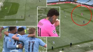 Ederson's Incredible Pass Started Move For Manchester City's Goal