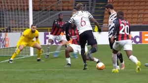 Paul Pogba Scores Brilliantly For Manchester United Mere Minutes After Coming On Against AC Milan