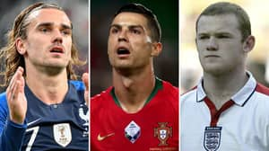 The 10 Greatest Strikers In UEFA European Championship History Have Been Named And Ranked