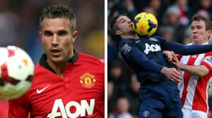 Wilfried Zaha Reveals The Incredible Secret Behind Robin Van Persie's Chest Control