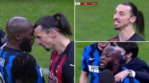 Romelu Lukaku Says 'F**k You And Your Wife' In Angry Outburst Towards Zlatan Ibrahimovic