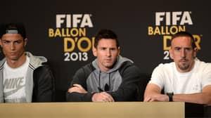 Franck Ribery Fumes At Not Winning 2013 Ballon d'Or,  Calls It 'Biggest Injustice Of My Career'