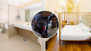 Ronaldinho Staying In Presidential Suite Of Luxury Hotel While Under House Arrest