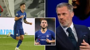 Jamie Carragher Says Christian Pulisic Won't Be As Good As Eden Hazard