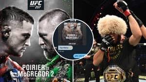 Leaked Messages From UFC Twitter Account Suggests Conor Mcgregor Vs Dustin Poirier II Is For Lightweight Title