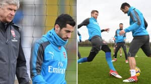 Henrikh Mkhitaryan Has Been Staying Behind After Arsenal Training For A Very Good Reason