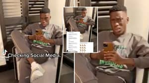 Ilaix Moriba Shares Disgusting Racist Messages He Has Received From Fans In TikTok Video