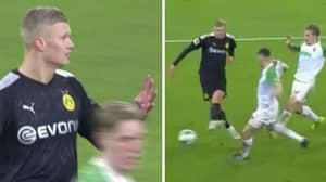 Erling Haaland Scores A Hat-Trick In Incredible Borussia Dortmund Debut