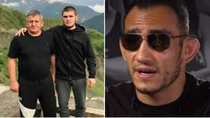 Tony Ferguson Sends Classy Message To Khabib Nurmagomedov After The Death Of His Father
