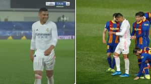 Casemiro Showed Off Some Brilliant Sh*thousery During El Clasico