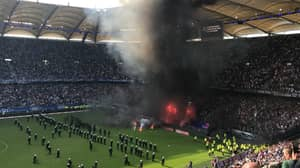Angry Hamburg Fans Wreak Havoc Following Relegation