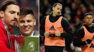 Marcos Rojo Brilliantly Describes Training With Zlatan Ibrahimovic