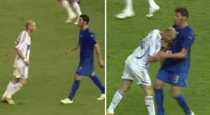 Marco Materazzi Revealed What He Said To Zinedine Zidane Ahead Of The Infamous Headbutt