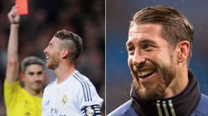 Sergio Ramos Has Gone The Full Year Of 2018 Without A Single Red Card