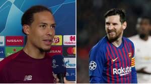 How Virgil van Dijk Reacted When Asked About Facing Lionel Messi