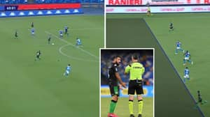 Sassuolo Have Four Goal Disallowed In 2-0 Loss Against Napoli