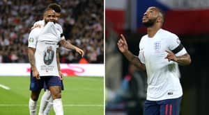 Raheem Sterling Scores A Superb Hat-Trick In England's Win Over Czech Republic