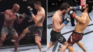 Kamaru Usman Vs Nate Diaz And Jorge Masvidal Vs Conor McGregor Simulated On UFC 4