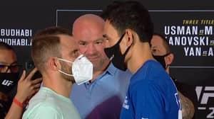 Dana White Eyeing Trilogy Fight Between Alexander Volkanovski And Max Holloway
